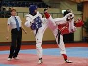 Gana Vietnam oros en torneo mundial de taekwondo