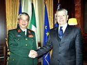 Cooperación militar Vietnam - Italia sirve al bien de pueblos