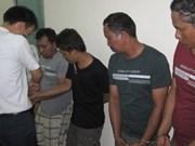 Detenidos 11 piratas en Ba Ria-Vung Tau
