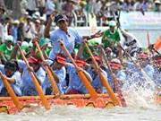 Tra Vinh inaugura regata de botes motorizados