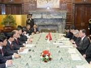 Presidente del parlamento Nguyen Sinh Hung visita Japón