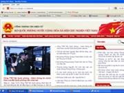 Lanzan web del Ministerio de Defensa vietnamita