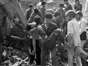 Rinden homenaje a víctimas civiles del bombardeo 1972