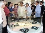 Secretario general laosiano concluye visita a Vietnam