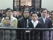 Condenan a 14 sujetos por conspiración en Vietnam