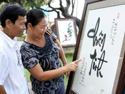 Encuentro confucionista honra al arte de caligrafía