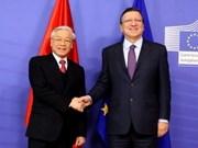 Visita del secretario general del PCV eleva nivel de nexos con UE