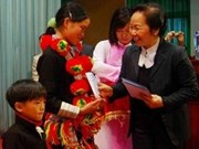 Vicepresidenta visita provincia norteña de Lai Chau