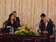 Presidenta argentina visita Ciudad HCM por nexos económicos