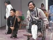 Fundación japonesa ayuda a discapacitados vietnamitas