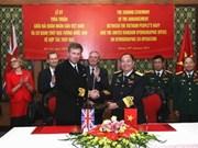 Vietnam y Reino Unido fortalecen relaciones en defensa
