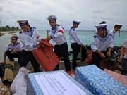 Saludan a pobladores y soldados de Truong Sa por televisión