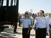 Premier urge modernización de unidad naval