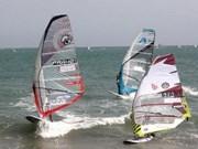 Competencia internacional de surf en Phan Thiet