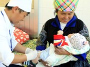 Vacunarán gratis contra rubéola a niños vietnamitas