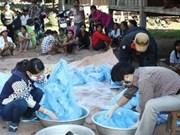 Previenen malaria en fronteras Vietnam – Cambodia
