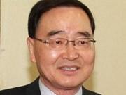 Mensaje de felicitación al primer ministro sudcoreano