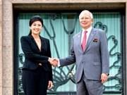 Premier de Tailandia visita Malasia