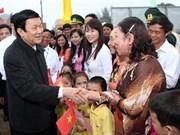 Presidente pone énfasis en corredor Este – Oeste