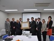 Donación japonesa a escolares vietnamitas