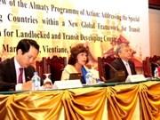 Concluye conferencia internacional de países sin litoral