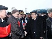 Visita de dirigente vietnamita acapara noticias en Rusia