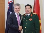 Vietnam y Australia fomentan cooperación militar
