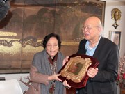 Fondo Phan Chau Trinh honra profesores vietnamólogos