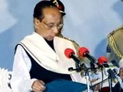 Condolencias por fallecimiento de presidente bengalí