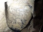 Descubren tarro antiguo en Quang Binh
