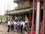 Inician restauración de Ngo Mon en antigua ciudadela Hue