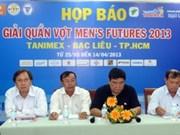 Organizará Vietnam torneos internacionales de tenis