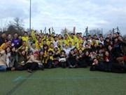 Fútbol refuerza unidad estudiantes vietnamitas en Reino Unido
