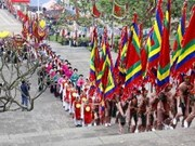 Phu Tho se prepara para Festival de Reyes Hung