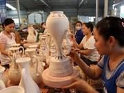 Propagan atracción de aldea cerámica Chu Dau