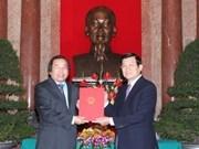 Presidente urge al sector diplomático nuevos esfuerzos