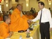 Vicepremier saluda a los khmers en su fiesta de Año Nuevo