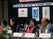 Presentan en Tailandia antología literaria trilingüe Vietnam