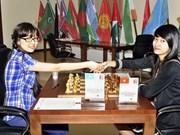 Dorada chica vietnamita en torneo asiático de ajedrez
