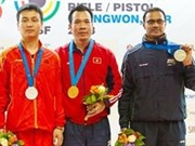 Conquista Vietnam oro en campeonato mundial de tiro