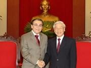 Partidos de Vietnam y Brasil intensifican lazos