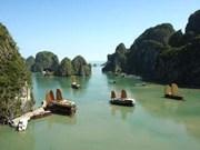 Suspenden transportación de mercancías en Bahía Ha Long
