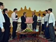 Ciudad Ho Chi Minh y Phnom Penh estrechan sus lazos