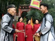 Festival honra canto patrimonio de UNESCO en Vietnam