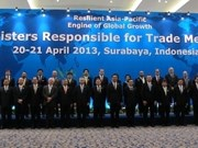 Concluye Conferencia Ministerial de APEC