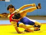 Luchadora vietnamita obtiene plata en torneo asiático