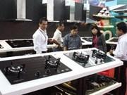 Sesiona exposición Internacional de construcción en Vietnam