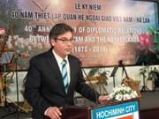Conmemoran relaciones diplomáticas Vietnam - Países Bajos