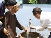 Asistencia belga contra cambio climático en Vietnam