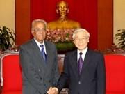 Líder comunista indio saluda éxito de renovación vietnamita